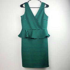 Deja Vu by Judith March Midi Sheath Dress Lg NWOT